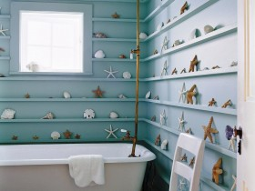 Bathroom coastal style
