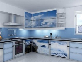 Kitchen design in a Maritime style