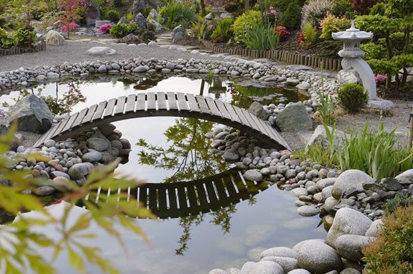 Далеко не безопасный садовый мостик