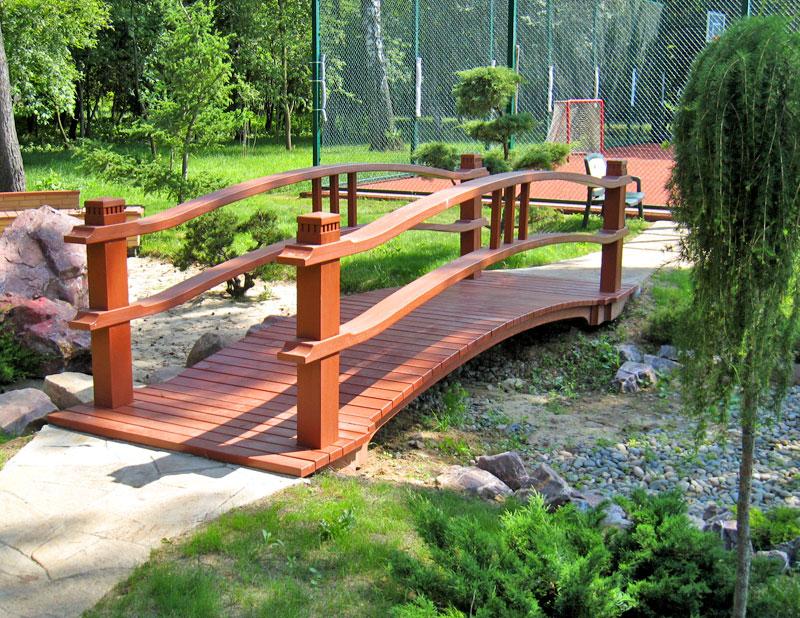 Мост на даче