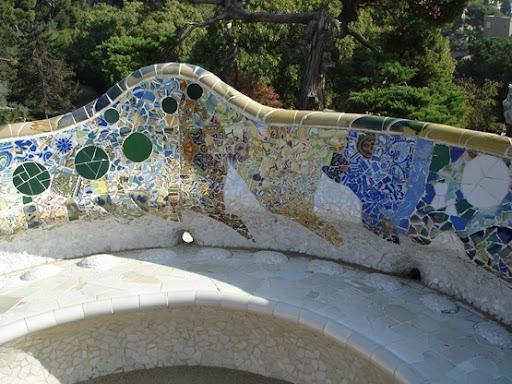 Мозаика в украшении фонтанов на даче