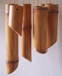 Музыка ветра из бамбука своими руками