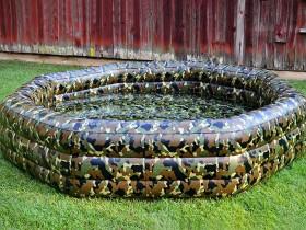 Оформлення надувного басейну