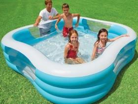Надзіманы басейн для дзяцей
