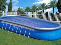Большой надувной бассейн для компании
