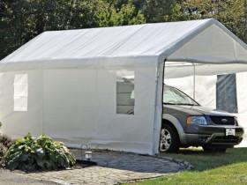 Fabric carport