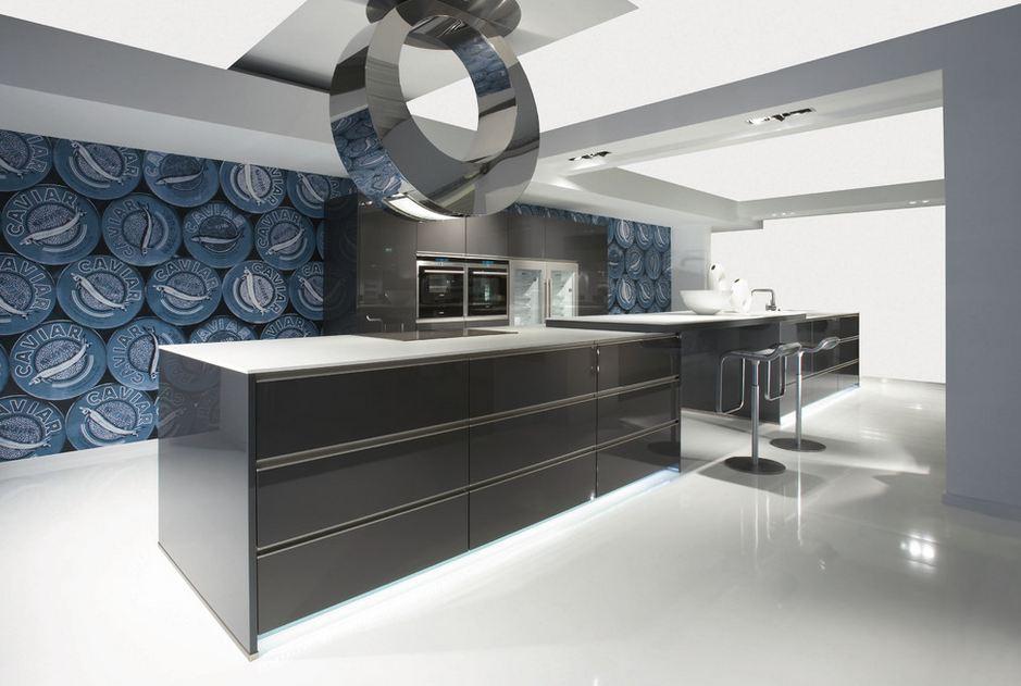 Фото необычного дизайна кухни