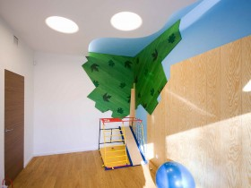 Play area in the nursery