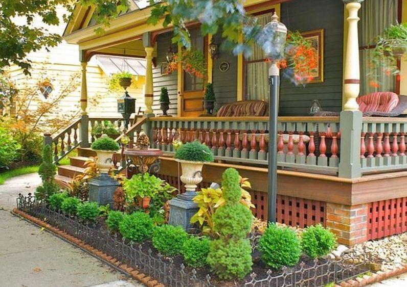 Как обустроить палисадник перед домом своими руками