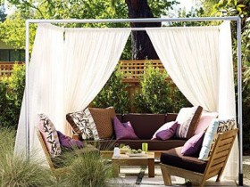 The idea patio curtains