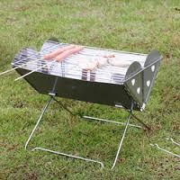 Переносная печь барбекю