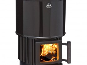Finnish wood burning stove