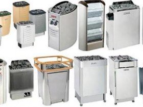 Types of electric furnaces for baths