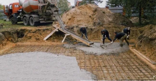 Строительство плитного фундамента профессионалами
