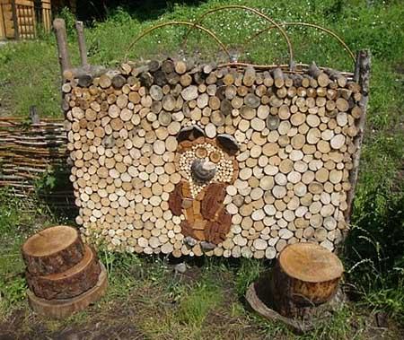 Как сделать шалаш из дерева