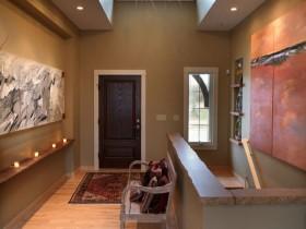 Beautiful hallway in a modern style