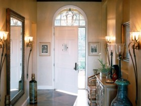 Entrance hall in a private house