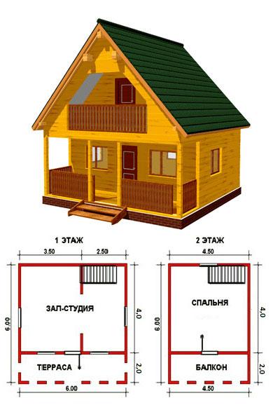 Как построить садовый домик своими руками