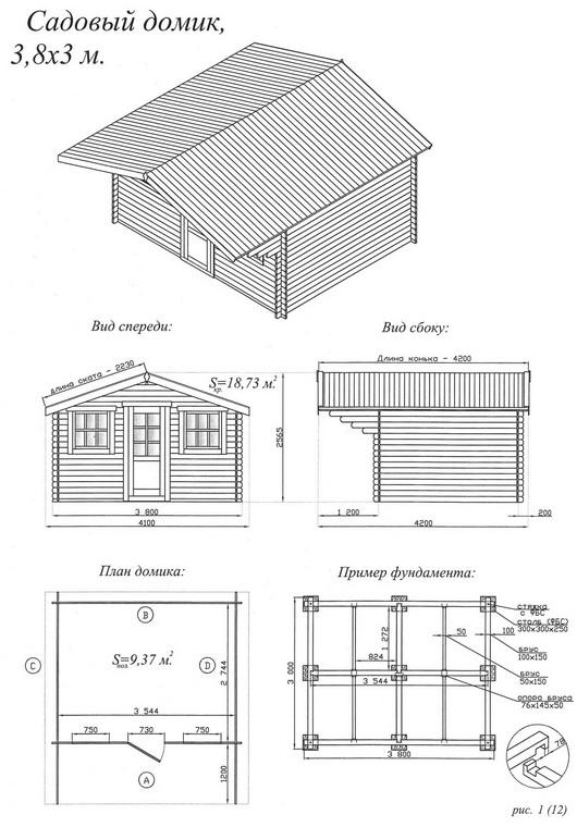 Как построить домик своими руками