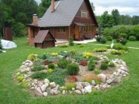 The arrangement of a suburban area in 20 acres
