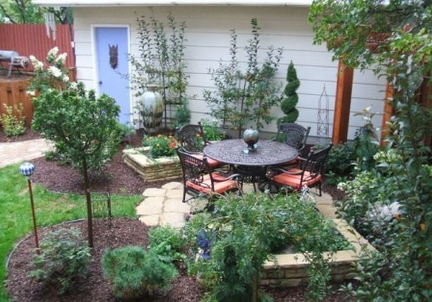Landscaping A Small Area In Front Of House :
