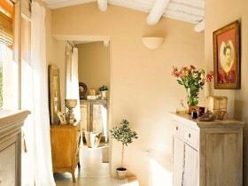Room in Provence style
