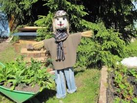 Scarecrow o'z qo'llari bilan