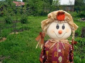 Beautiful design of garden doll
