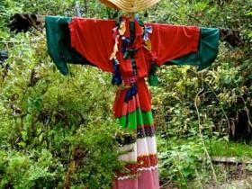Oddiy dizayn scarecrows