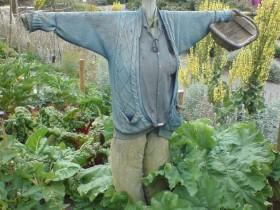 Scarecrow bog'da
