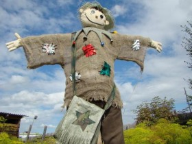 A Scarecrow from burlap