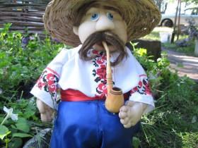 Scarecrow in the Ukrainian style