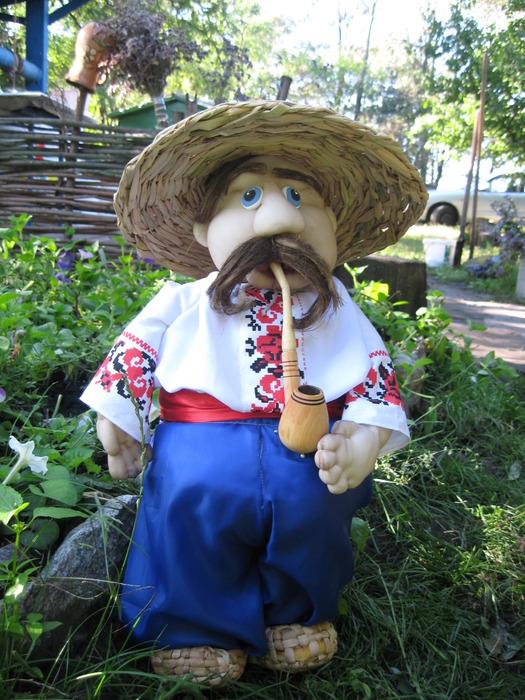 Кукла своими руками для сада и огорода