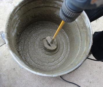 Цементно-песчаный раствор своими руками