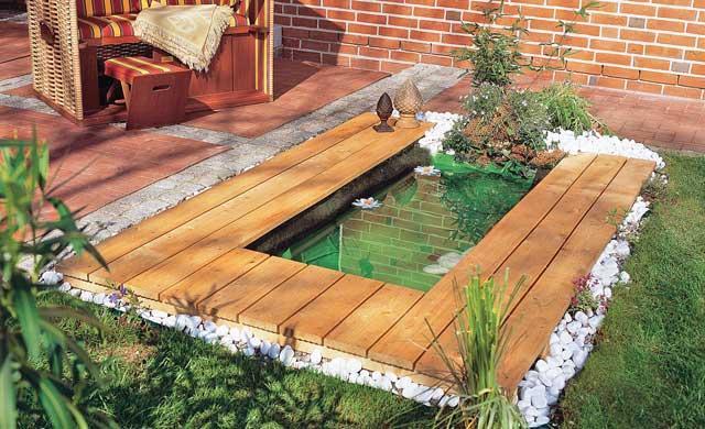 Построить пруд на даче