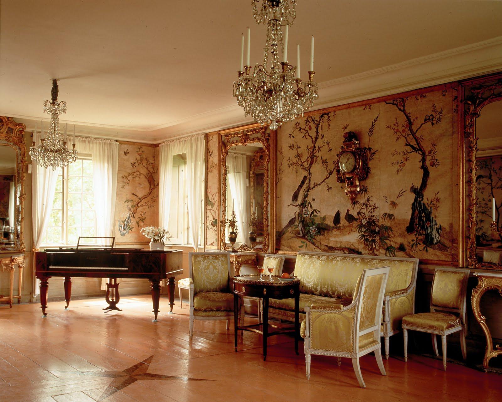 Стиль рококо в интерьере: фото и основные черты
