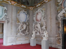 The interior is Rococo style