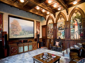 Luxury living in the Romanesque style