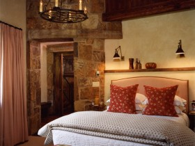 Bedroom interior Roman style