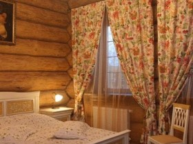 A small room in the Russian style