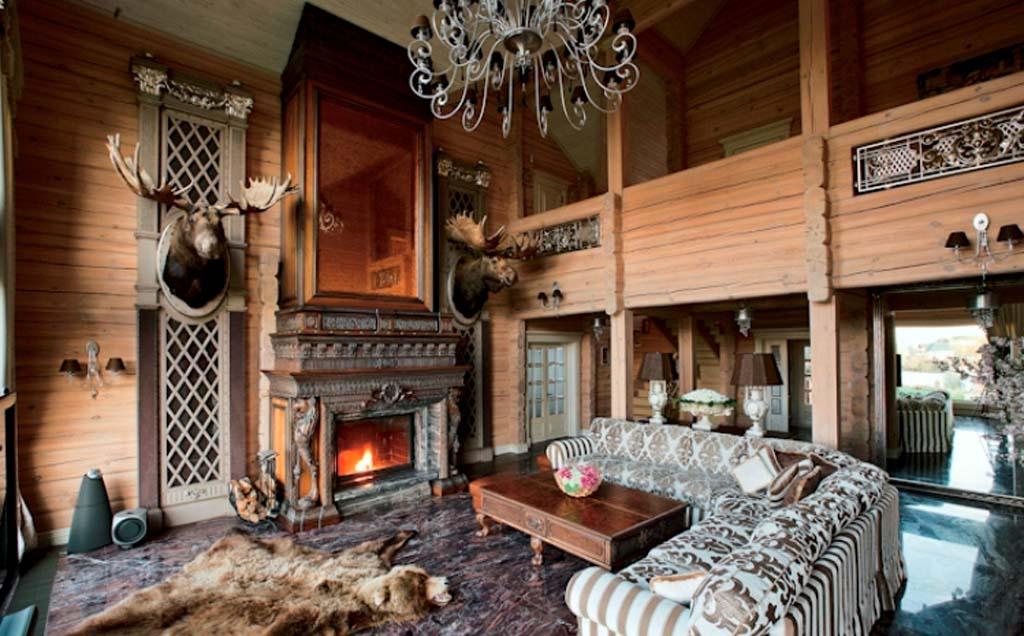 Дизайн охотничье домика