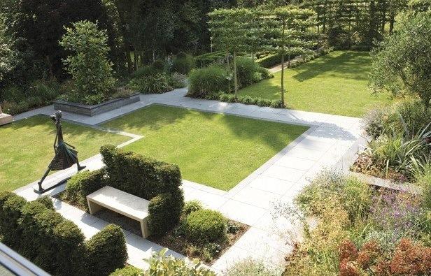 Особенности планировки садового участка в стиле хай-тек