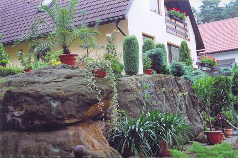 Озеленение «современного» сада