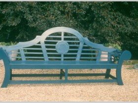 Bench in Japanese style