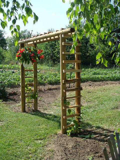 Садовая арки своими руками