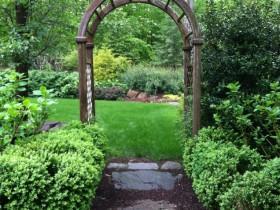 Luxury wooden arch