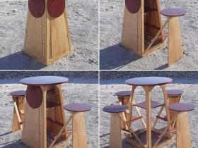 Компактная мебель для сада