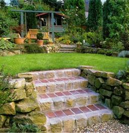The creation of the garden stairs with their hands: the choice of design, design calculation and step by step instructions create.