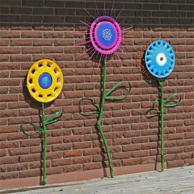 Роспись бочек для сада