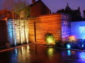 Architectural lighting garden